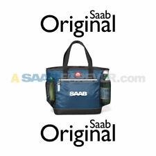 NEW GENUINE SAAB IGLOO LUNCH BOX BAG COOLER TOTE BLUE SAAB OWNER GIFT ACCESSORY