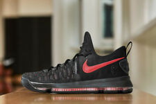 official photos a4406 132c3 Mens NIKE Zoom KD 9 PRM Aunt Pearl Shoes 10 Black-Hot Punch 881796-