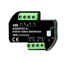 ABB Video Distributor for Indoor monitors Model 83320/2 U-500
