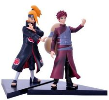 Set 2pcs Naruto Shippuden Deidara & Gaara Toy Figure Doll New No Box