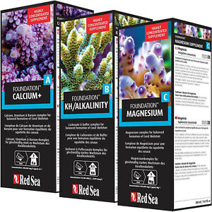 Red Sea Reef Foundation ABC PRO PACK 3x 500mL Best Deal Buy Wholesale Save Money