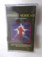 ENIGMA MCMXC A D RARE orig CASSETTE TAPE INDIA  1999