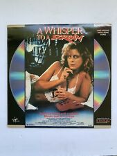 A Whisper to A Scream Laserdisc LD Virgin Vision Nadia Capone