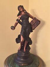 """RARE Auguste Moreau Spelter Statue """"LA GLOIRE"""""""