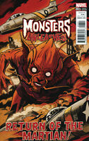 Monsters Unleashed #3 50s Movie Variant Marvel