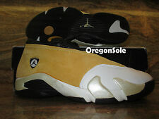 1999 Nike Air Jordan XIV 14 Low OG Sample SZ 9 Light Ginger Retro 136019-701