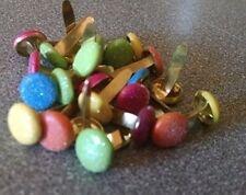 Scrapbooking Glitter Round Brads Bulk 25pc - Tropical