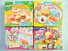 4 Boxes Set Kracie Hamburger Taiyaki Odango Omatsuri Cake Popin Cookin New Gift