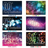 Best 30th 40th 50th 60th 70th 80th Birthday Party Invitations Invites Pack of 20