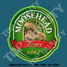 MOOSEHEAD LAGER BEER DECAL STICKER FOR BAR FRIDGE COOLER MANCAVE SHED CAR