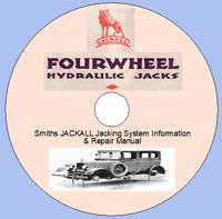Smiths JACKALL Jacking System Information & Repair Manual , Austin, M.G.