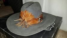Gray Cow boy Hat 7 3/8 Rodeo King