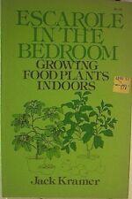 Escarole in the bedroom: Growing food plants indoo