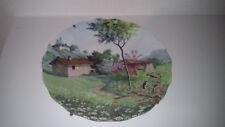 assiette en porcelaine de Limoges diffusée par Valette