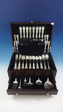 Francis I Reed & Barton Sterling Silver Flatware 8 Set 54 Pieces Script Mark