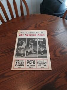 MAY 13,1967-THE SPORTING NEWS-STEVE HARGAN OF THE CLEVELAND INDIANS(MINT)