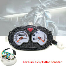 Motorcycle Bikes Odometer Meter Speedometer Assembly Instrument Gauge GY6 150cc