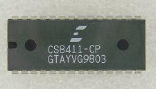 Crystal CS8411-CP =  Digital Audio Receiver SPDIF + AES/EBU = 32-48kHz = DIP28