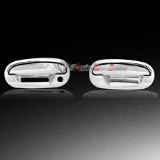 97-03 Ford F-150 Chrome 2 Door Handle Cover Covers w/ Keypad w/o PSG Keyhole