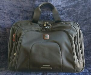 """Tumi Tech T-Pass Laptop expandable Travel Bag multi pocket ballistic 17x13x7-9"""""""