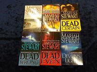 6 COMPELLING BOOKS by MARIAH STEWART ** UK POST £3.25 ** PAPERBACKS