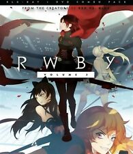 RWBY(BLU-RAY+DVD)VOLUME 3 NEW FREE SHIPPING