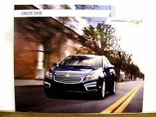 2015 Chevrolet Cruze LTZ Eco LS Turbo Diesel LT Car Sales Brochure Catalog NEW