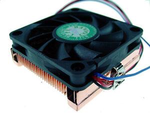 Evercool  Socket A/Socket 370 Low Profile Copper Heatsink for 1U Server CU3-610