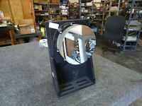 """6"""" Optical Laser Test Mirror w/ Heavy Mount,  Enlarges with distance, 2"""" thick"""
