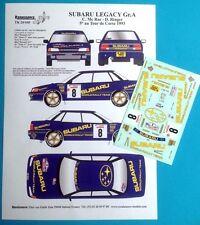 Transkit 1/24 SUBARU LEGACY Gr.A RALLYE TOUR de CORSE 1993 Renaissance TK24/440