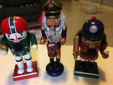 Handpainted Wooden Nutcracker Action Figures Home Ornament