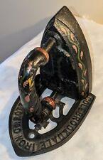 Antique Bookend Iron Anchor & Trivet Repurposed