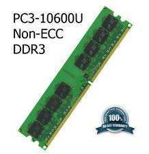 Kit de actualización de memoria DDR3 2 GB placa madre Gigabyte GA-G41MT-S2PT no ECC PC3-10600