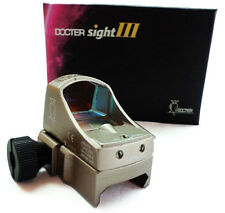 Tactical Sight III Red Dot Docter Style Auto Brightness Dot Reflex Black Tan