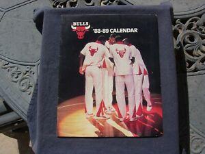 NBA - CHICAGO BULLS - 1988-1989 CALENDAR -