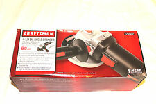 Craftsman 4-1/2 Inch Angle Grinder 6 Amp 11,000 RPM 3 Position Handle New