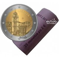 Rouleau 2 euros commémoratives LITUANIE 2017 - Vilnius, Capitale de la Culture