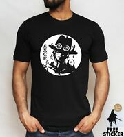 One Piece T Shirt Portgas D Ace Luffy White Beard Pirates Anime Adult Kids Tee