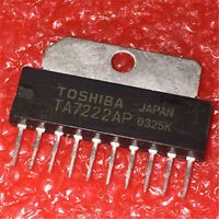 10PCS IC TA7222AP TA7222 ZIP-10 TOSHIBA 5.8W AUDIO POWER AMPLIFIER NEW