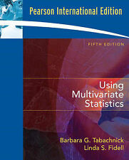 Using Multivariate Statistics by Tabachnick, Barbara G., Fidell, Linda S.