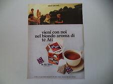 advertising Pubblicità 1973 TE' ATI