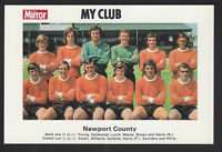 Daily Mirror - My Club Redemption Card 1971 - Newport