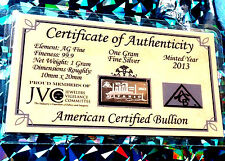 Silver Bullion Bars Amp Rounds For Sale Ebay