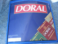 Vintage Doral Cigarette Tobacco Lighted Store Bar Sign