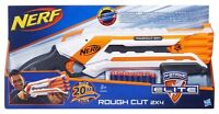 NERF N-Strike Elite Rough Cut Blaster Gun Double Barreled 2 x 4