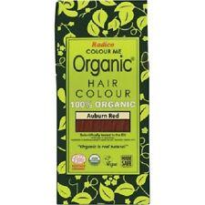 RADICO Salon Auburn Red Organic Hair Colour 500g ( Made From Henna & Herbs )