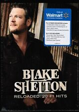 BLAKE SHELTON / Reloaded: 20 #1 Hits [WALMART-EXCL CD SET, 2015] NEW! w/ BONUS!