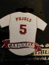 St. Louis Cardinals #5 Pujols Lapel Pin. Cardinal Nation Keepsake. FREE SHIPPING