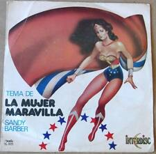 """WONDER Woman SANDY Barber SOUTHAMERICA 7"""" PS 1978 Can´t You Just See Me TOP RARE"""