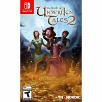 The Book of Unwritten Tales 2 (Nintendo Switch, 2019) Brand New Factory Sealed